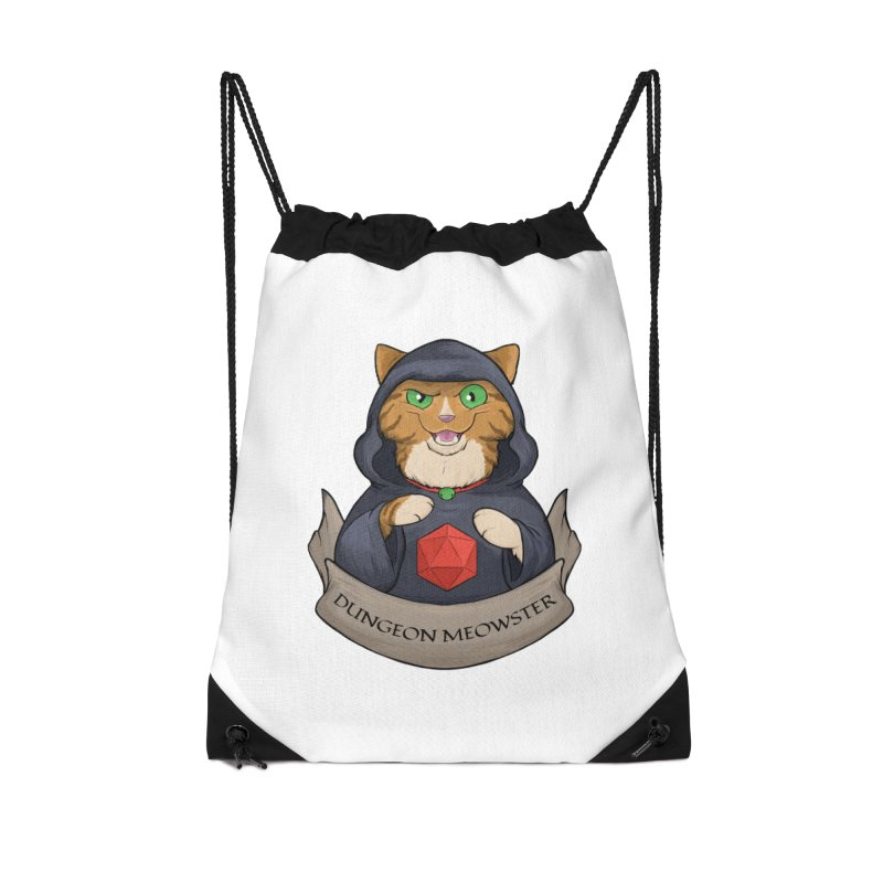 Dungeon Meowster Tabby Kitty Accessories Bag by DnDoggos's Artist Shop