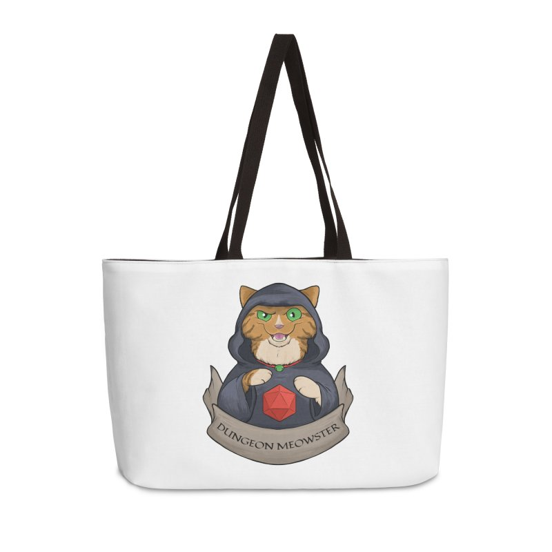 Dungeon Meowster Tabby Kitty Accessories Weekender Bag Bag by DnDoggos's Artist Shop