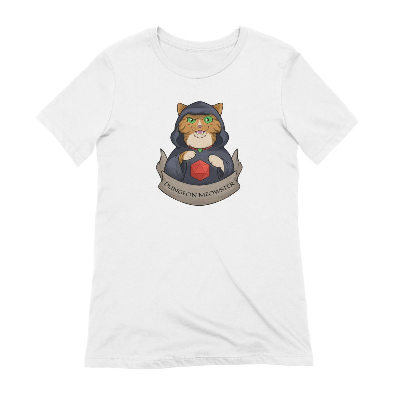 Dungeon Meowster Tabby Kitty Women's Extra Soft T-Shirt by DnDoggos's Artist Shop