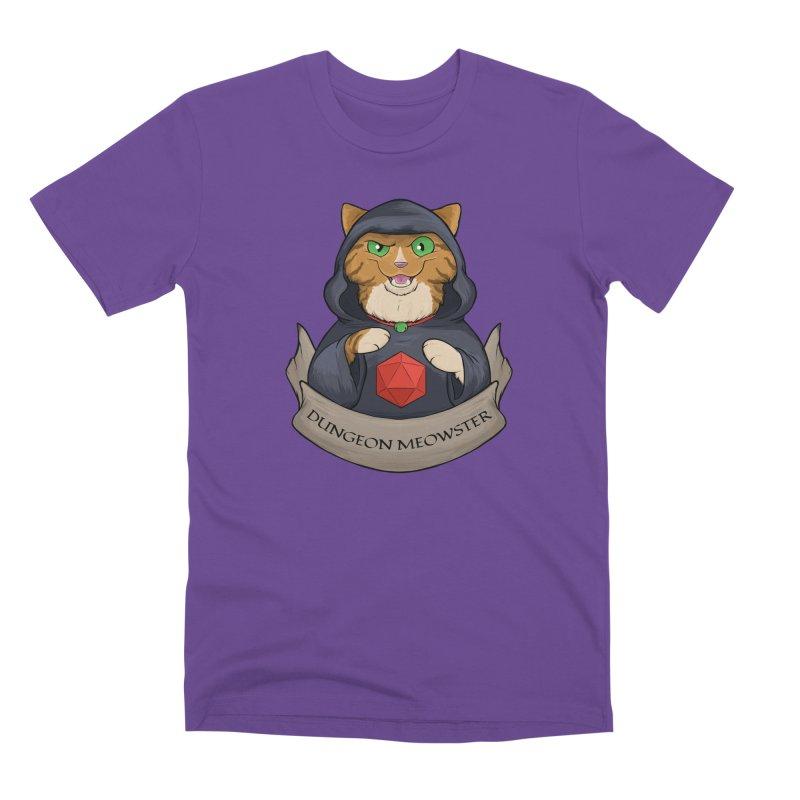 Dungeon Meowster Tabby Kitty Men's Premium T-Shirt by DnDoggos's Artist Shop