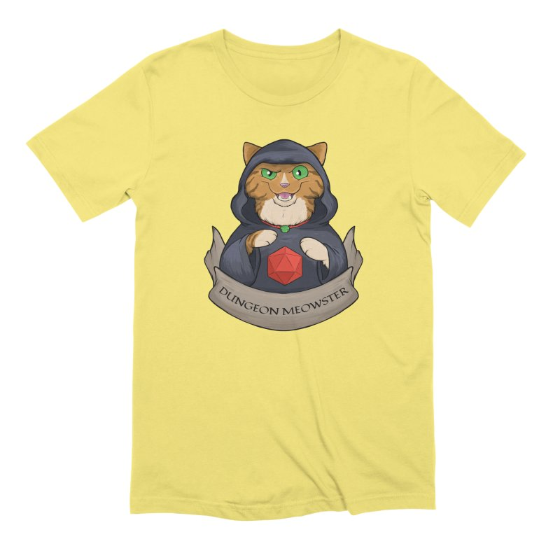 Dungeon Meowster Tabby Kitty Men's T-Shirt by DnDoggos's Artist Shop
