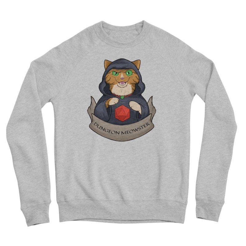 Dungeon Meowster Tabby Kitty Women's Sponge Fleece Sweatshirt by DnDoggos's Artist Shop