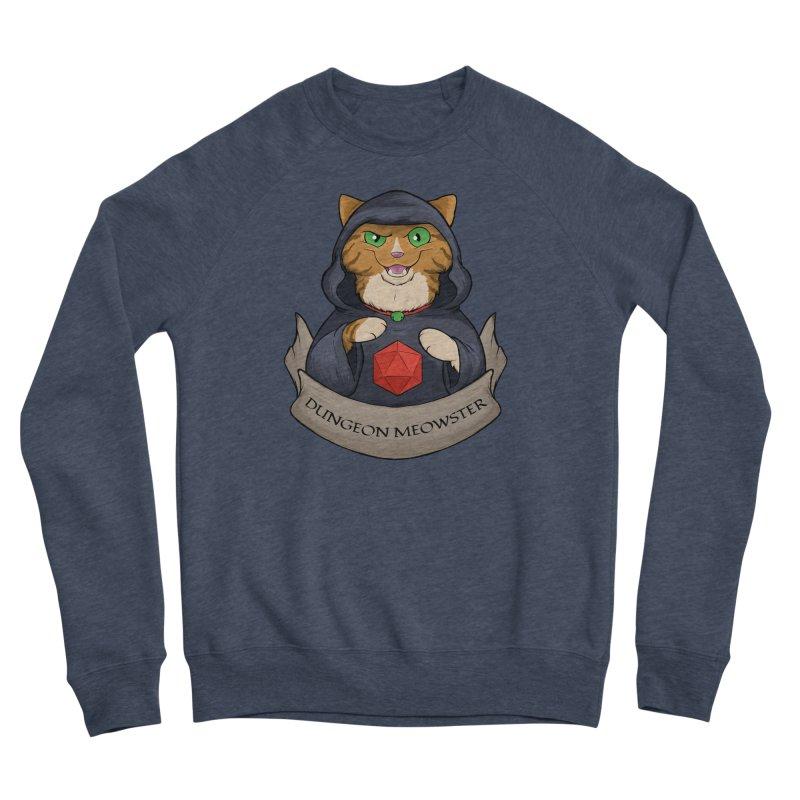 Dungeon Meowster Tabby Kitty Men's Sponge Fleece Sweatshirt by DnDoggos's Artist Shop