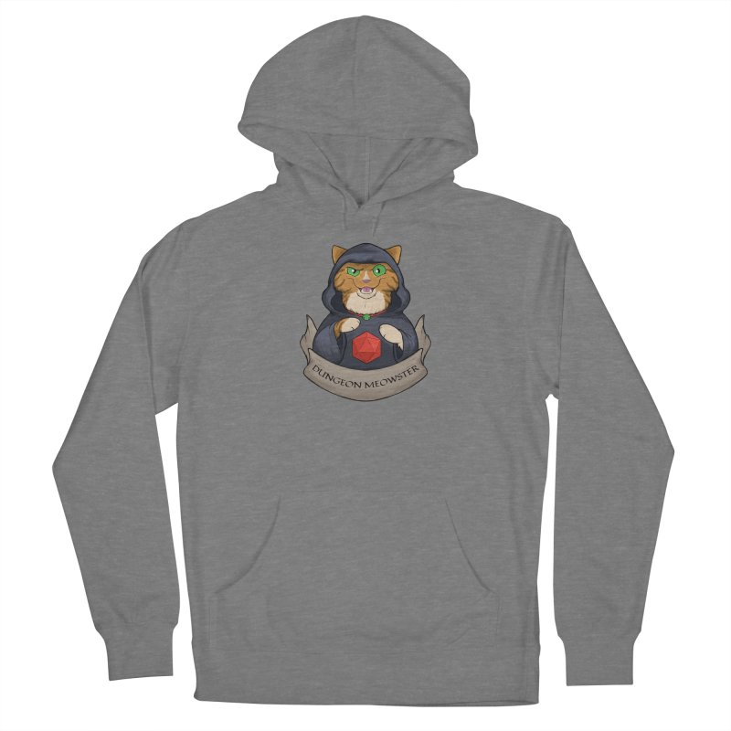 Dungeon Meowster Tabby Kitty Women's Pullover Hoody by DnDoggos's Artist Shop