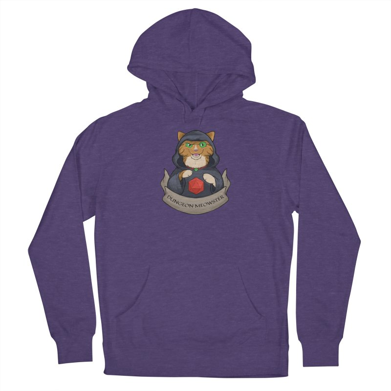 Dungeon Meowster Tabby Kitty Men's Pullover Hoody by DnDoggos's Artist Shop