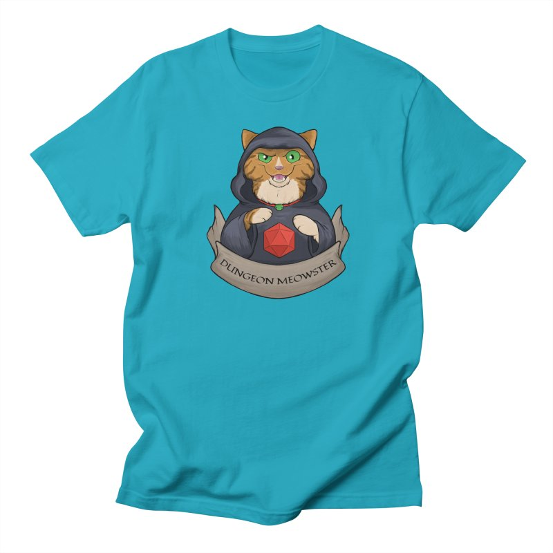 Dungeon Meowster Tabby Kitty Women's T-Shirt by DnDoggos's Artist Shop