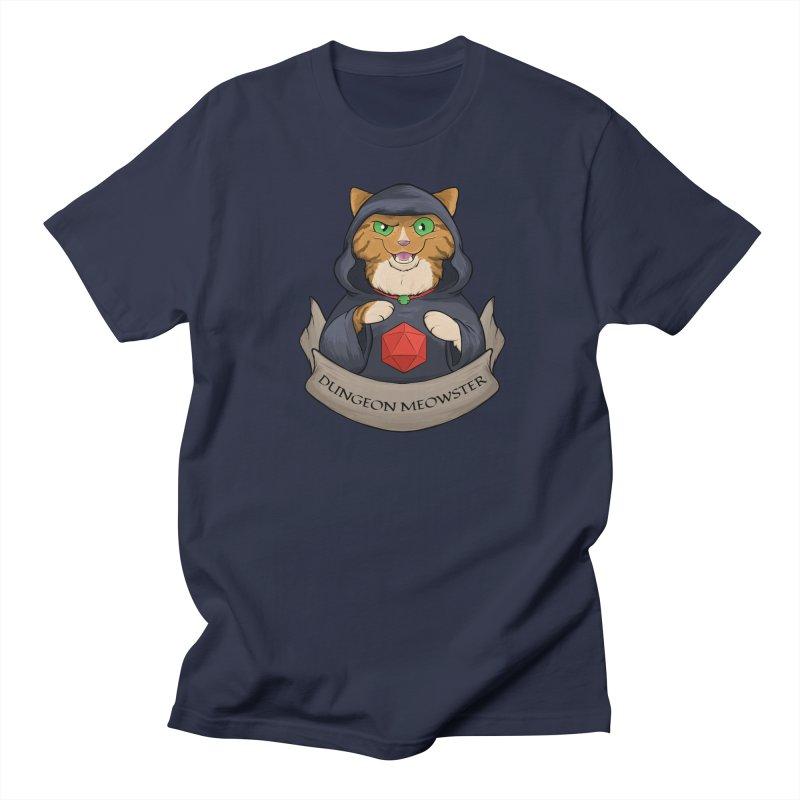 Dungeon Meowster Tabby Kitty Women's Regular Unisex T-Shirt by DnDoggos's Artist Shop