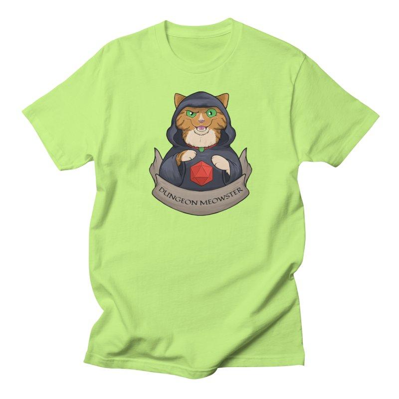 Dungeon Meowster Tabby Kitty Men's Regular T-Shirt by DnDoggos's Artist Shop
