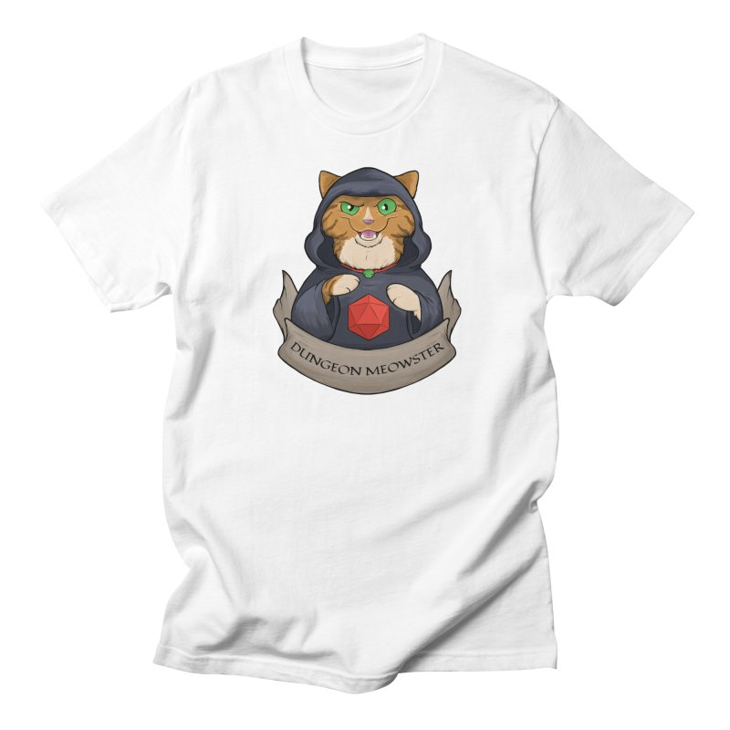 Dungeon Meowster Tabby Kitty Men's Regular T-Shirt by DnDoggos's Artist Shop
