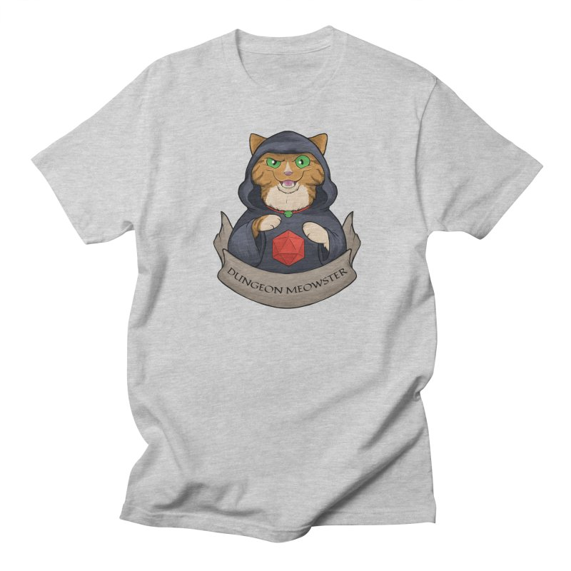 Dungeon Meowster Tabby Kitty Women's T-Shirt by DnDoggos's Artist Shop