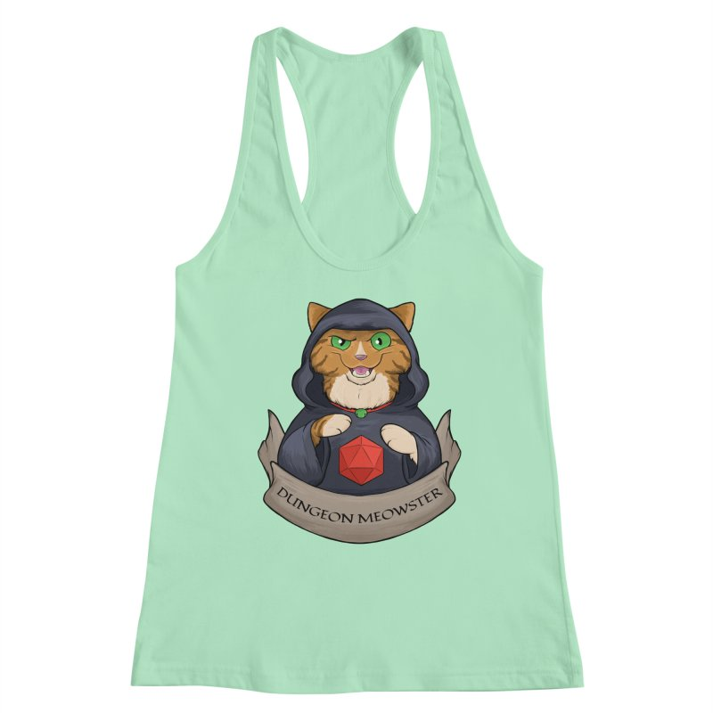 Dungeon Meowster Tabby Kitty Women's Tank by DnDoggos's Artist Shop