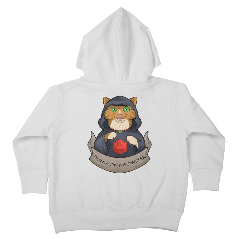 Dungeon Meowster Tabby Kitty Kids Toddler Zip-Up Hoody by DnDoggos's Artist Shop