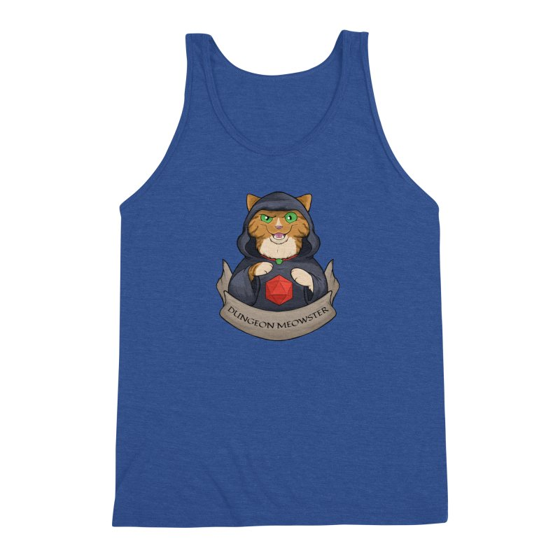 Dungeon Meowster Tabby Kitty Men's Tank by DnDoggos's Artist Shop