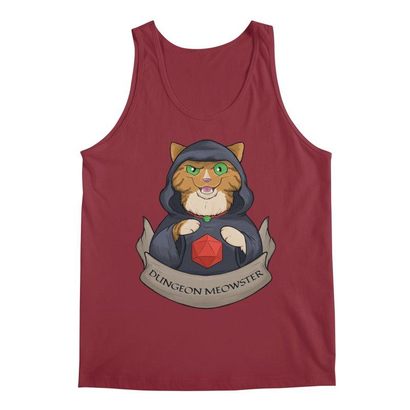 Dungeon Meowster Tabby Kitty Men's Regular Tank by DnDoggos's Artist Shop