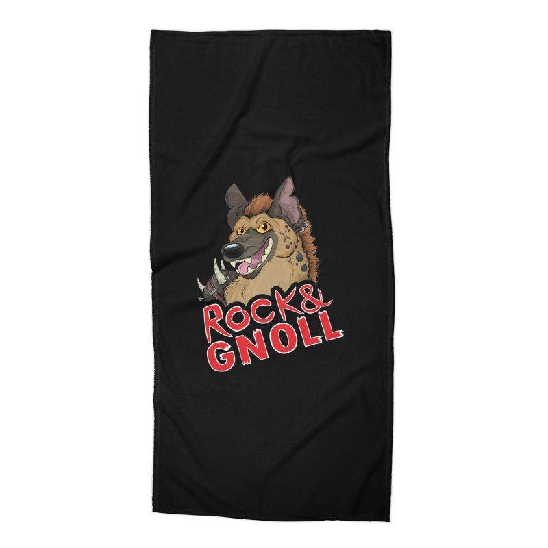 Rock & Gnoll Accessories Beach Towel by DnDoggos's Artist Shop