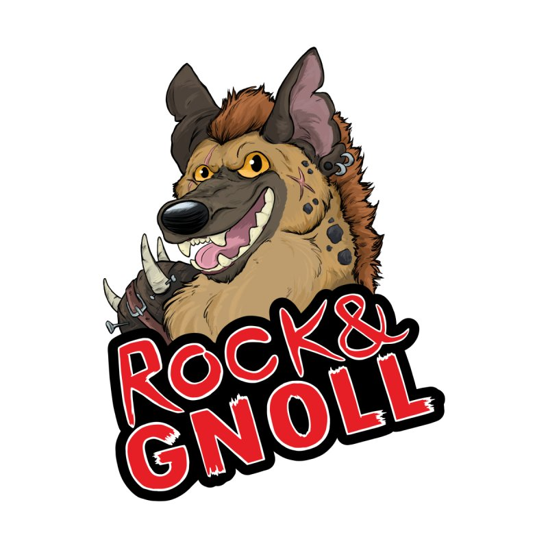 Rock & Gnoll Accessories Notebook by DnDoggos's Artist Shop
