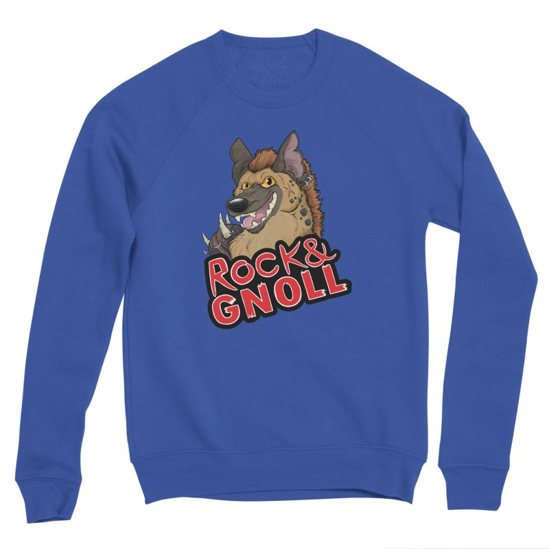 Rock & Gnoll Men's Sweatshirt by DnDoggos's Artist Shop