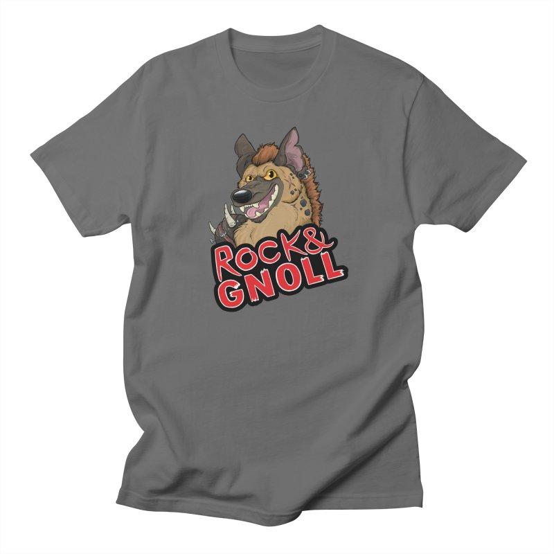 Rock & Gnoll Men's T-Shirt by DnDoggos's Artist Shop