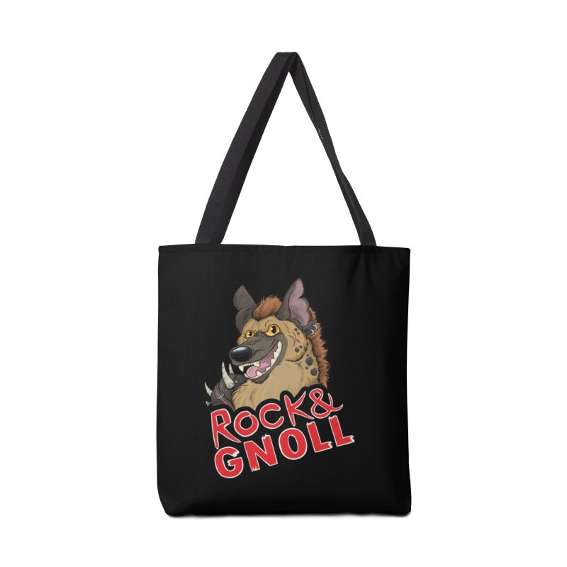 Rock & Gnoll Accessories Bag by DnDoggos's Artist Shop