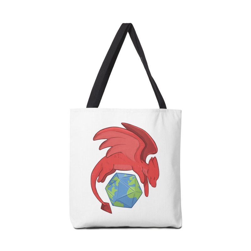 DnD Earth Day Accessories Tote Bag Bag by DnDoggos's Artist Shop