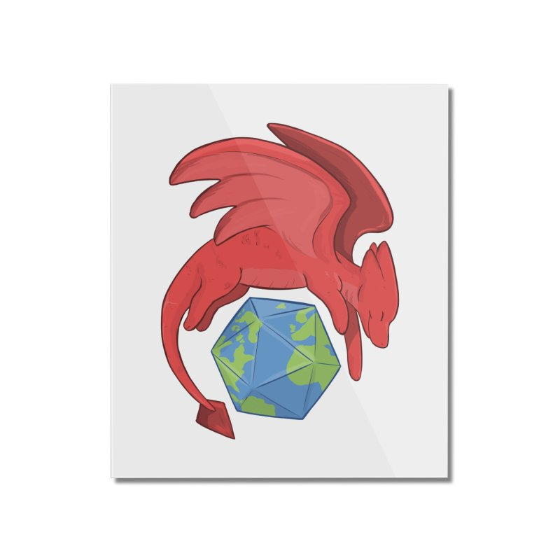 DnD Earth Day Home Mounted Acrylic Print by DnDoggos's Artist Shop