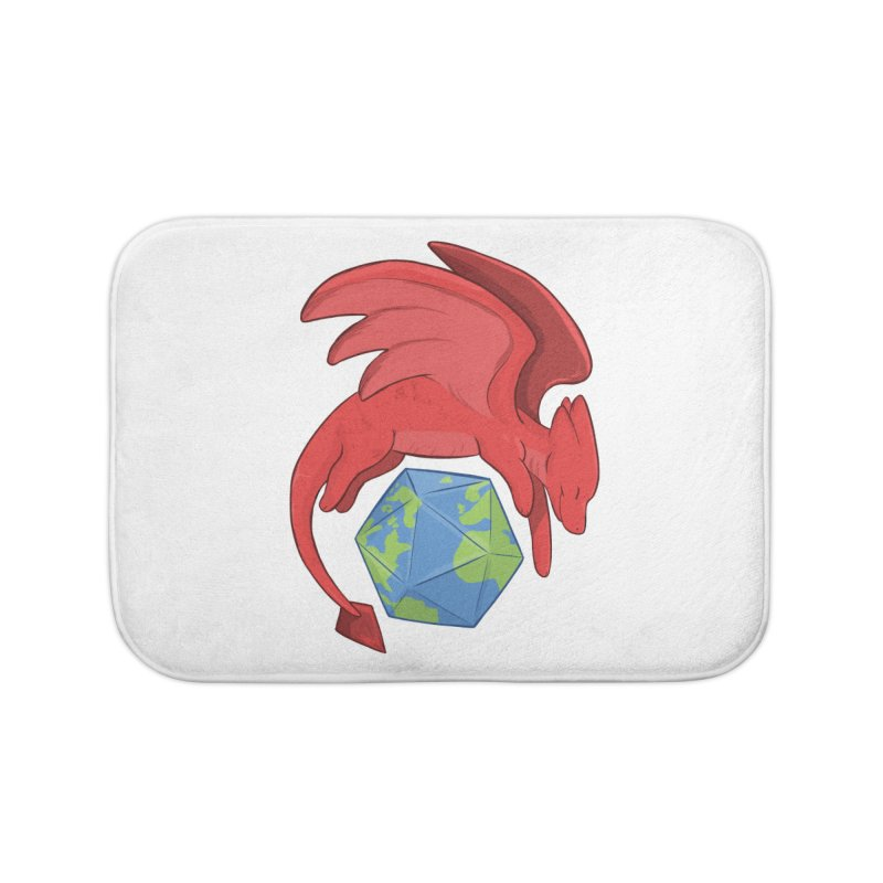 DnD Earth Day Home Bath Mat by DnDoggos's Artist Shop
