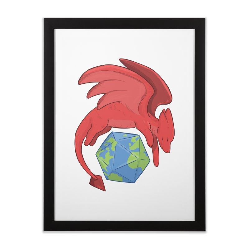 DnD Earth Day Home Framed Fine Art Print by DnDoggos's Artist Shop