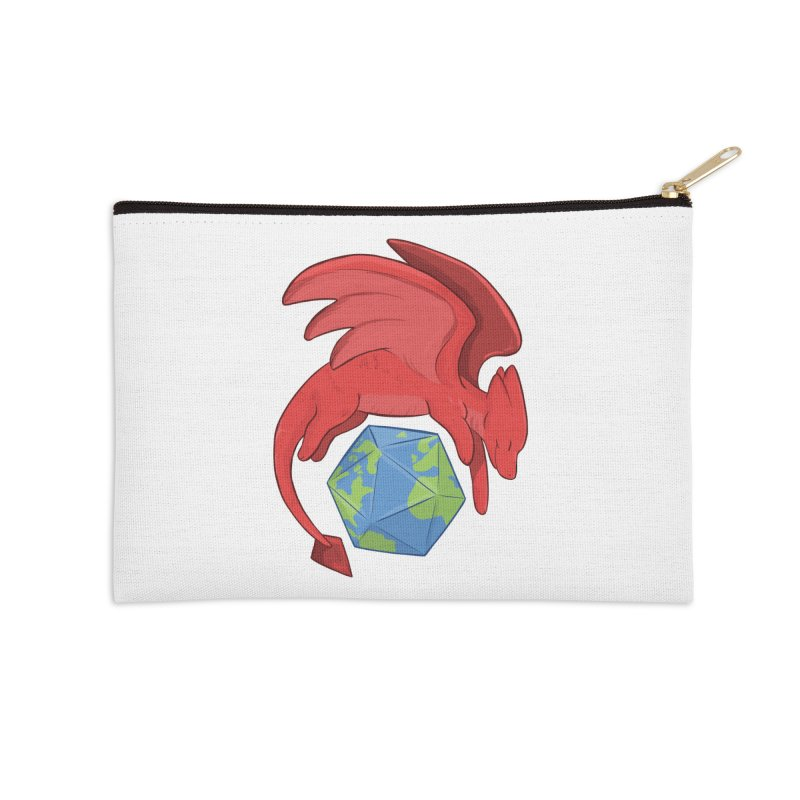 DnD Earth Day Accessories Zip Pouch by DnDoggos's Artist Shop