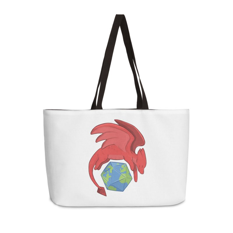 DnD Earth Day Accessories Weekender Bag Bag by DnDoggos's Artist Shop