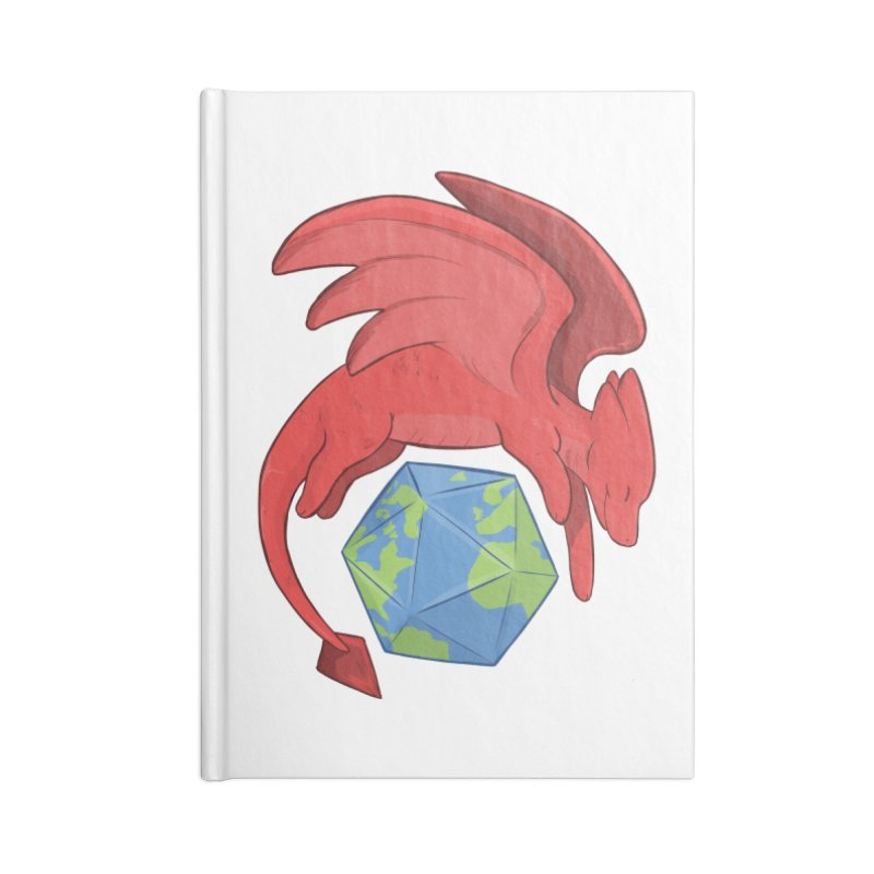 DnD Earth Day Accessories Lined Journal Notebook by DnDoggos's Artist Shop