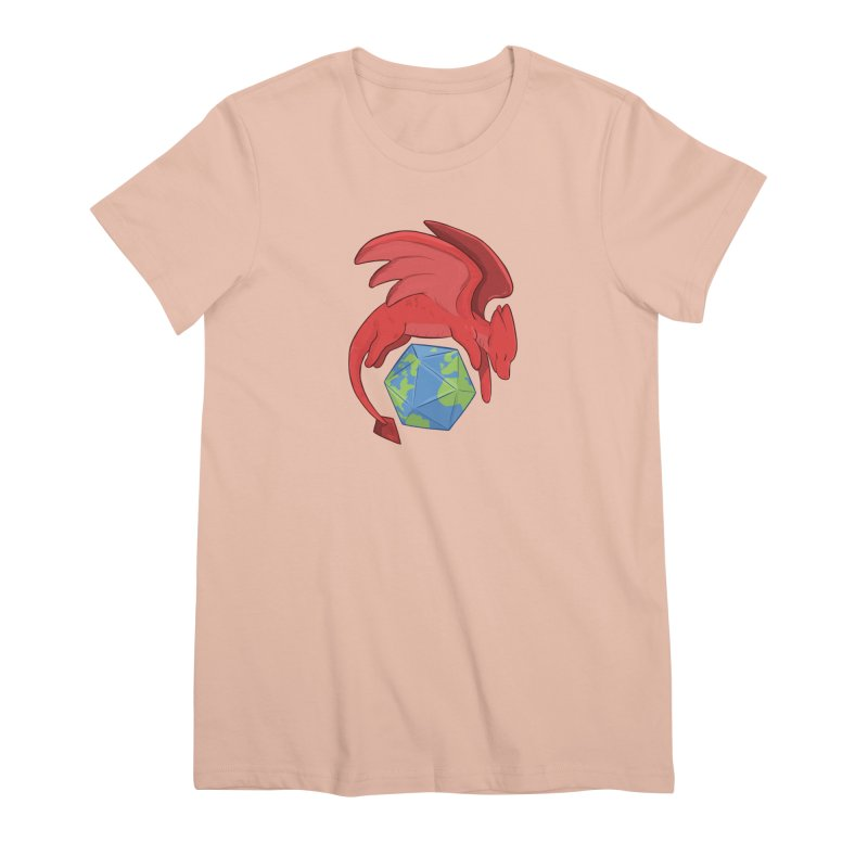 DnD Earth Day Women's Premium T-Shirt by DnDoggos's Artist Shop