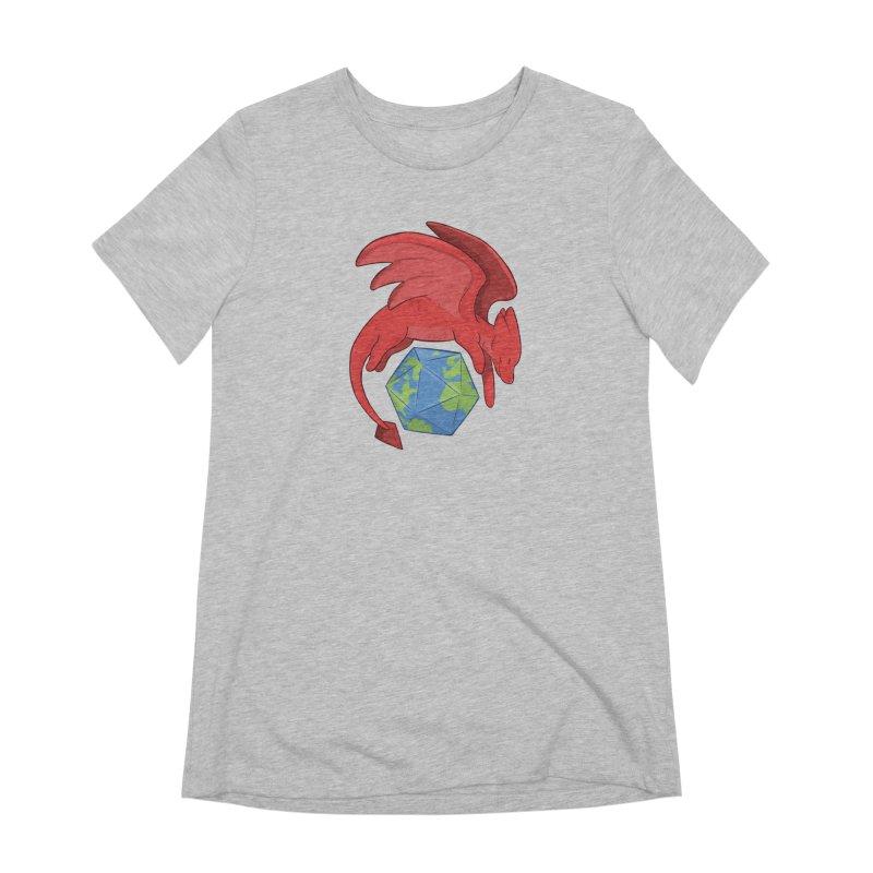 DnD Earth Day Women's Extra Soft T-Shirt by DnDoggos's Artist Shop