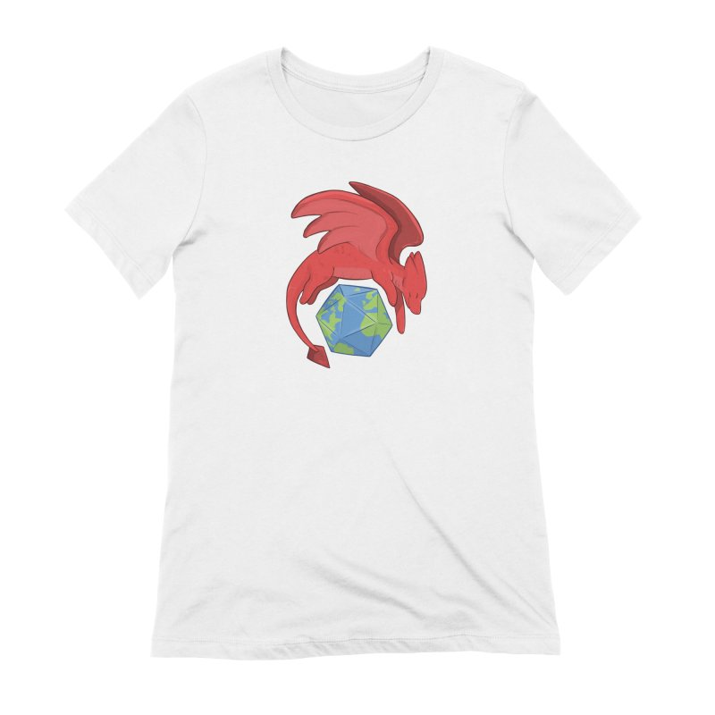 DnD Earth Day Women's Extra Soft T-Shirt by DnDoggos's Artist Shop
