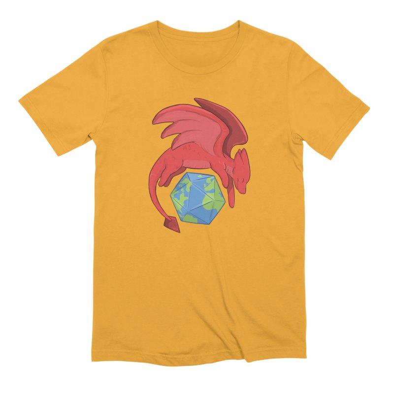 DnD Earth Day Men's Extra Soft T-Shirt by DnDoggos's Artist Shop