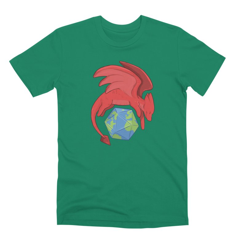 DnD Earth Day Men's Premium T-Shirt by DnDoggos's Artist Shop
