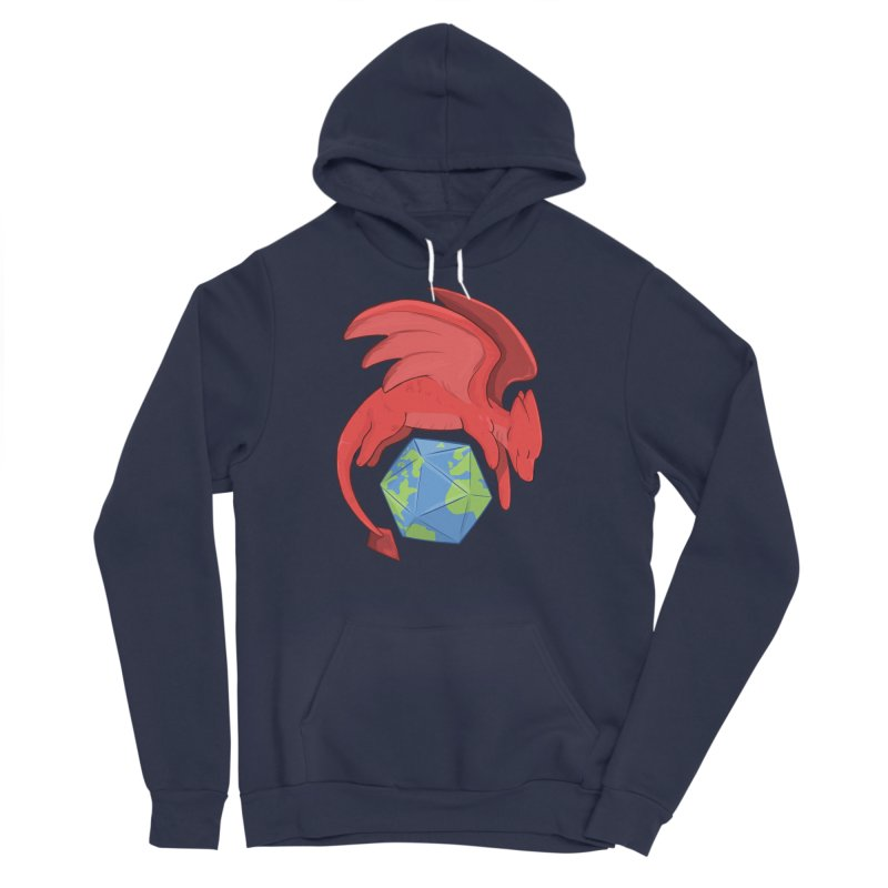 DnD Earth Day Women's Sponge Fleece Pullover Hoody by DnDoggos's Artist Shop