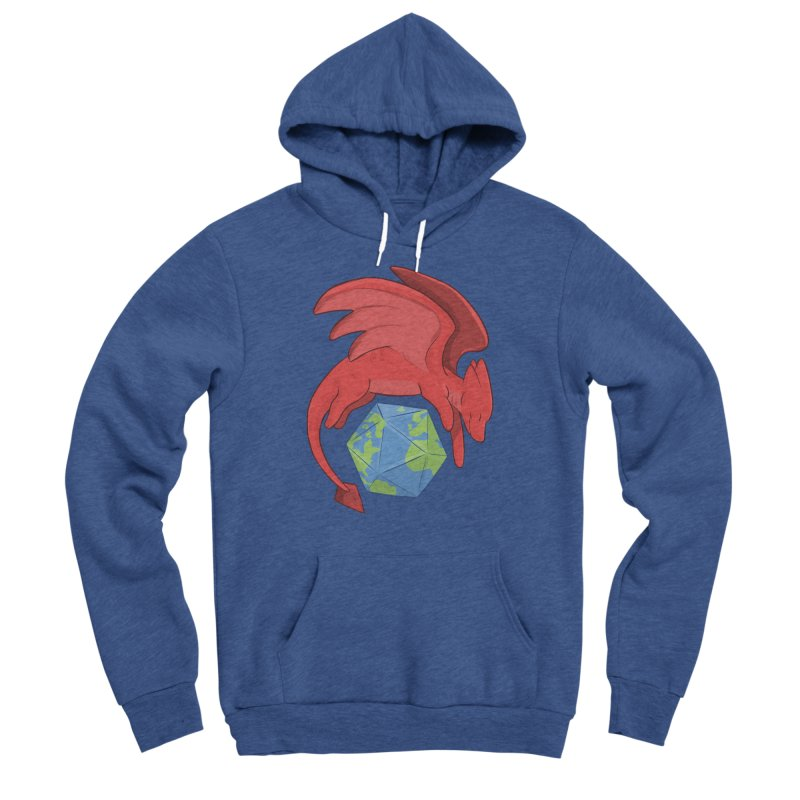 DnD Earth Day Men's Sponge Fleece Pullover Hoody by DnDoggos's Artist Shop