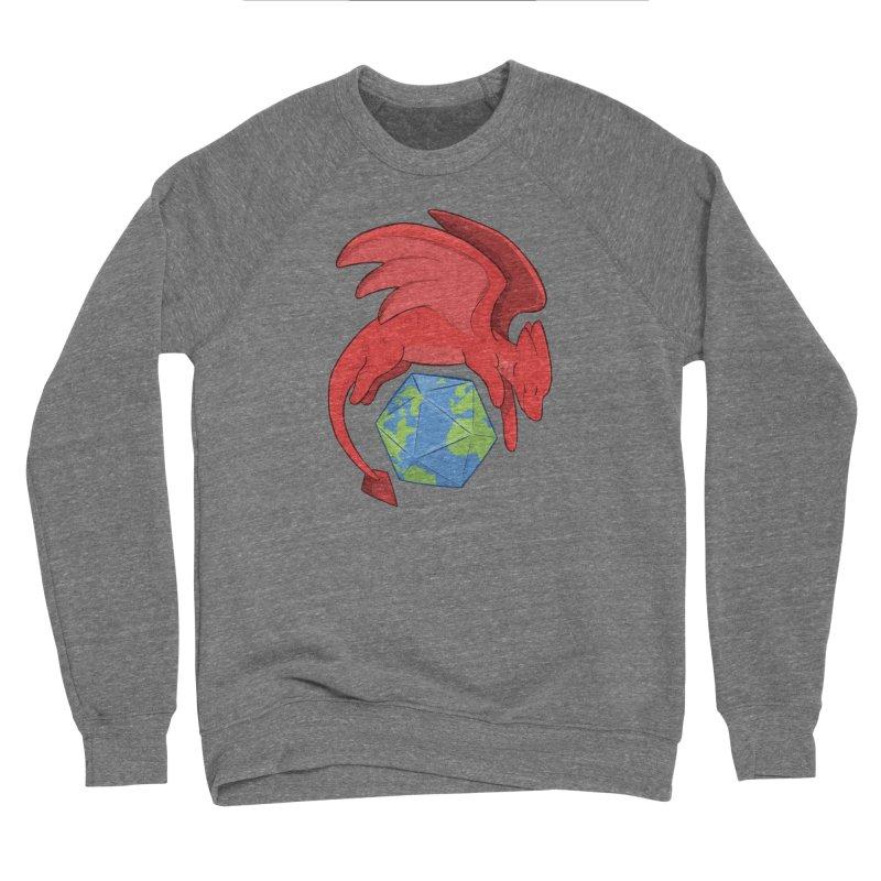 DnD Earth Day Men's Sponge Fleece Sweatshirt by DnDoggos's Artist Shop