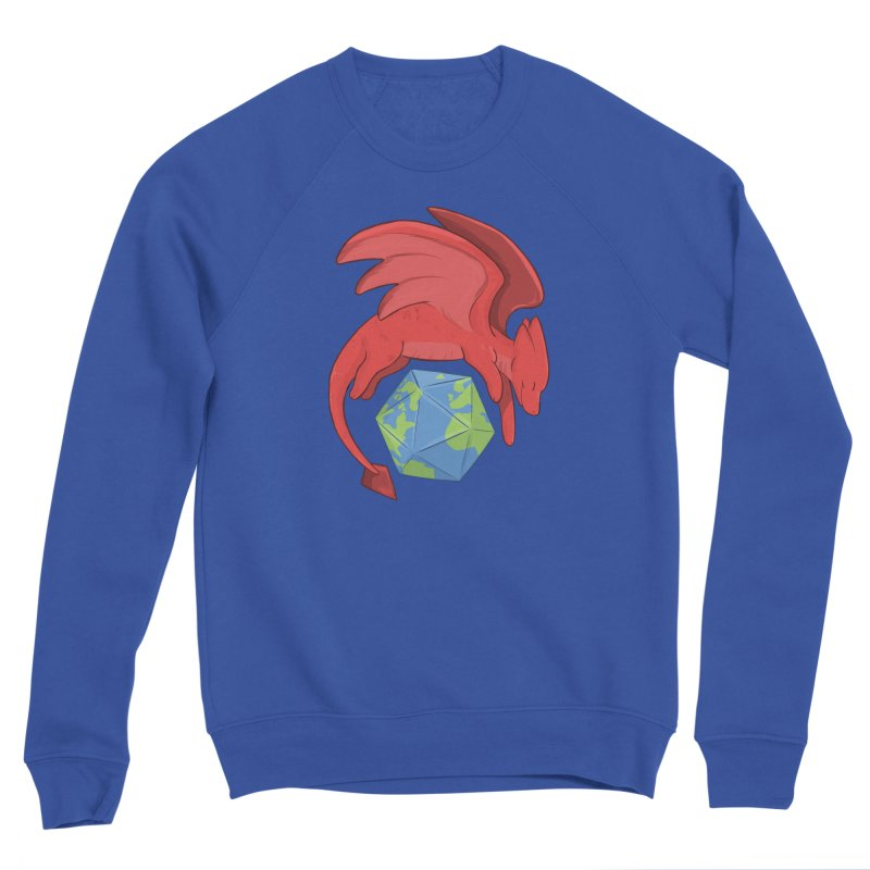DnD Earth Day Men's Sweatshirt by DnDoggos's Artist Shop