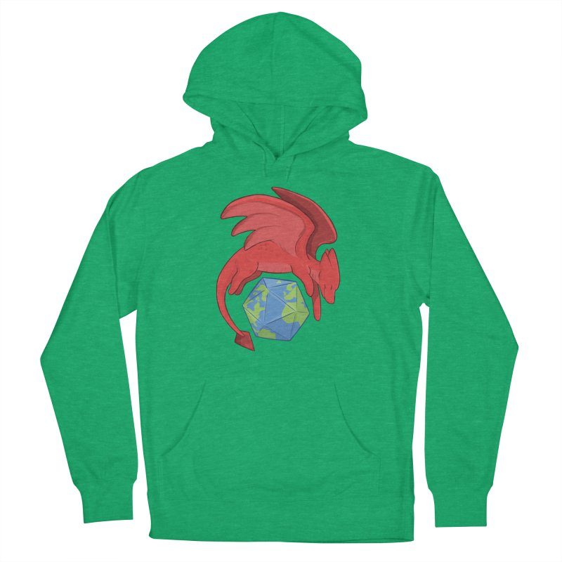 DnD Earth Day Women's French Terry Pullover Hoody by DnDoggos's Artist Shop