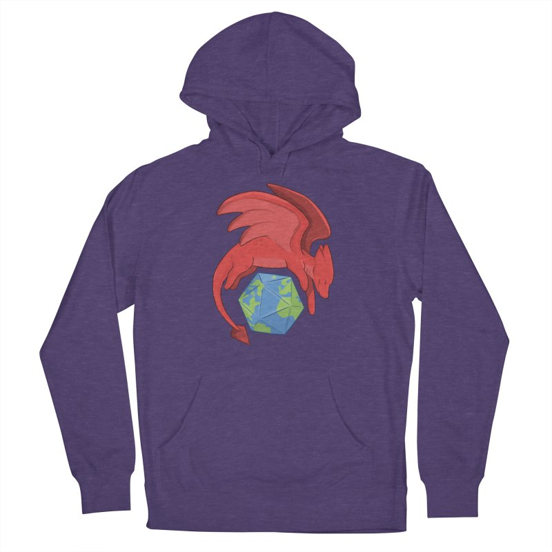 DnD Earth Day Men's French Terry Pullover Hoody by DnDoggos's Artist Shop