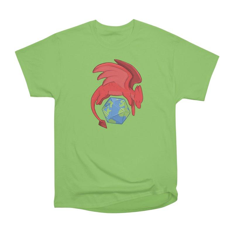 DnD Earth Day Men's Heavyweight T-Shirt by DnDoggos's Artist Shop