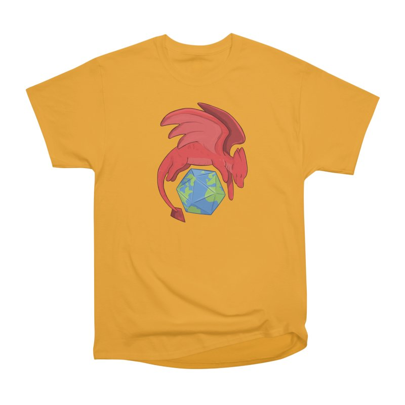 DnD Earth Day Men's Heavyweight T-Shirt by DnDoggos's Artist Shop