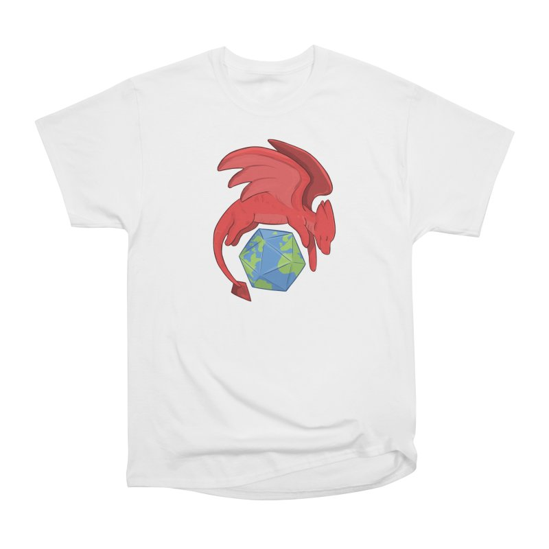 DnD Earth Day Women's Heavyweight Unisex T-Shirt by DnDoggos's Artist Shop