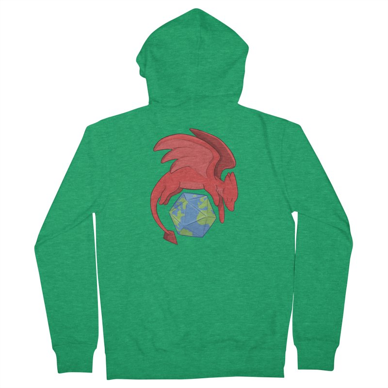 DnD Earth Day Women's Zip-Up Hoody by DnDoggos's Artist Shop
