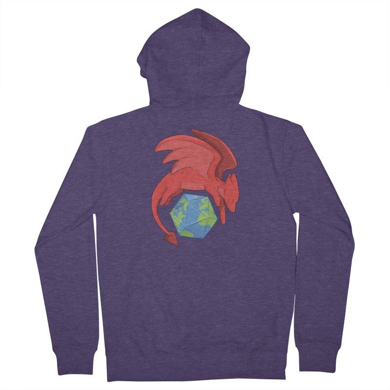 DnD Earth Day Men's Zip-Up Hoody by DnDoggos's Artist Shop
