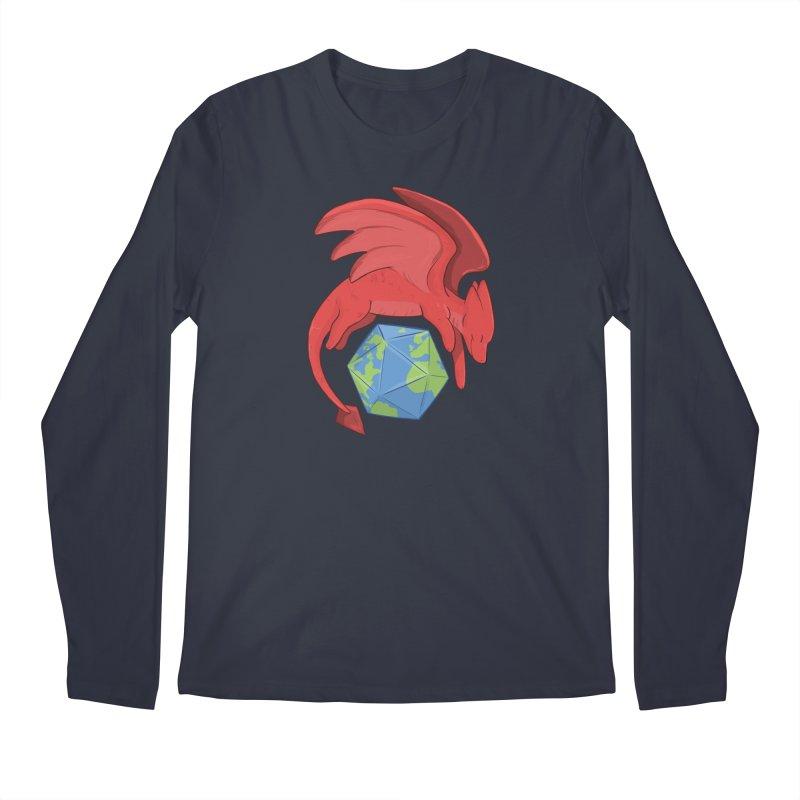 DnD Earth Day Men's Longsleeve T-Shirt by DnDoggos's Artist Shop