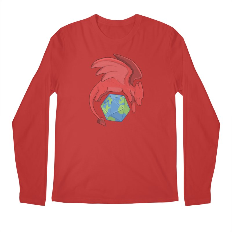 DnD Earth Day Men's Longsleeve T-Shirt by DnDoggos's Artist Shop