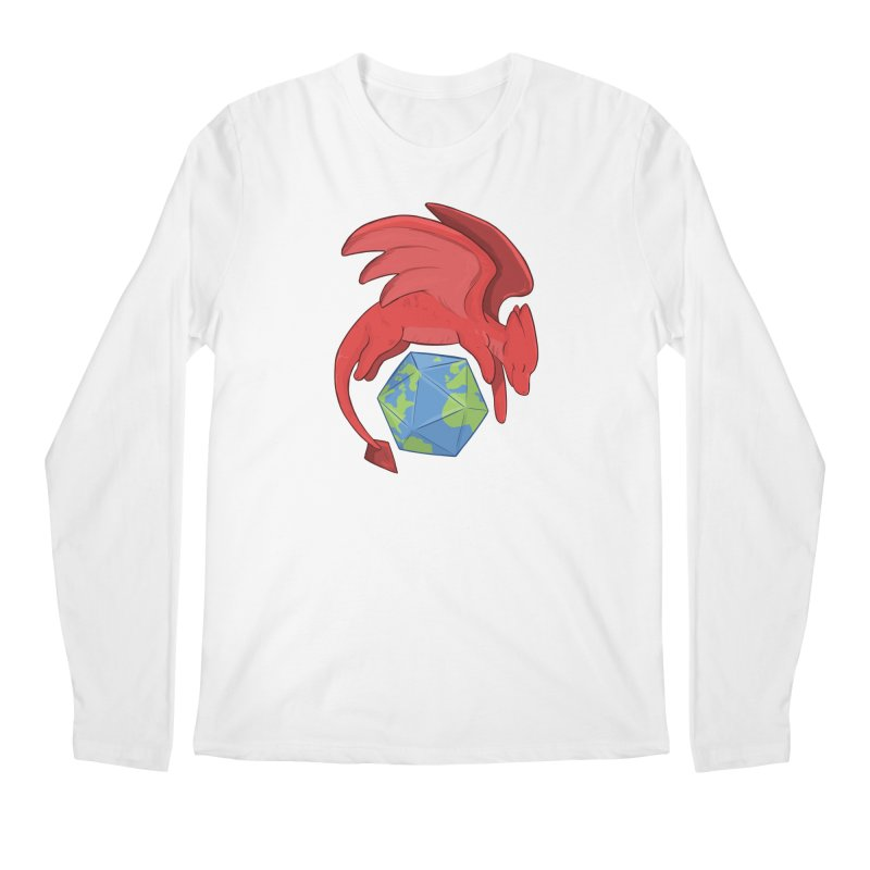 DnD Earth Day Men's Regular Longsleeve T-Shirt by DnDoggos's Artist Shop