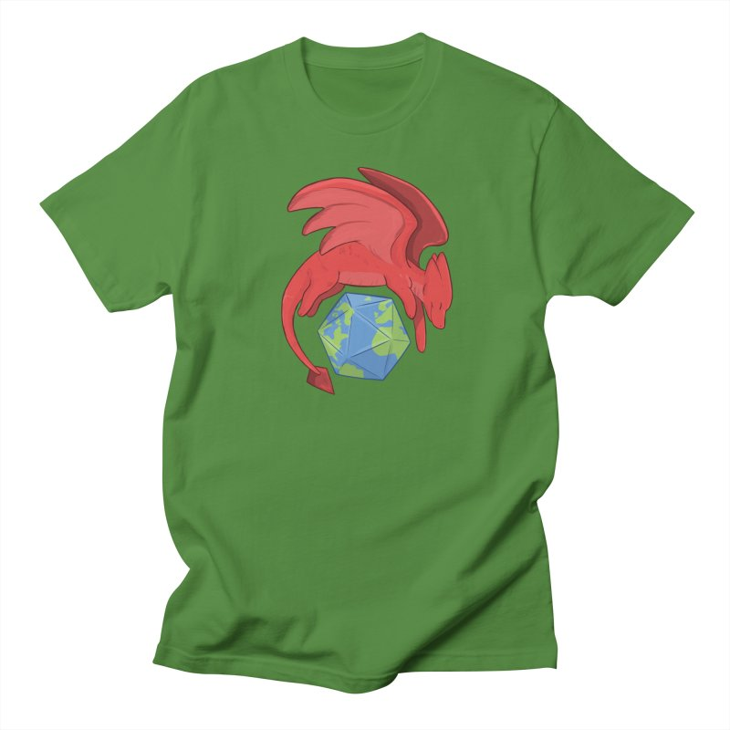 DnD Earth Day Men's T-Shirt by DnDoggos's Artist Shop